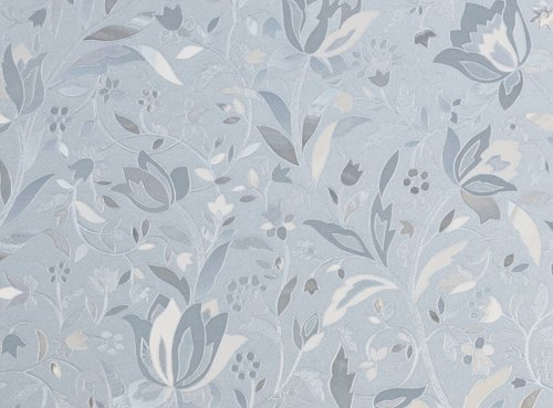 - Brewster PF0705 Cut Floral Premium Privacy Film Sidelight