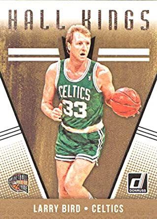 3b7d19acb4c Amazon.com  2018-19 Donruss Hall Kings  29 Larry Bird Boston Celtics ...