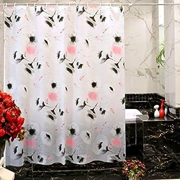 GroBartig Peva Duschvorhänge Für Badezimmer,Wasserdicht] Verdicken Sie Schimmel  Beweis Wand Vorhang Bad Vorhänge Fenster