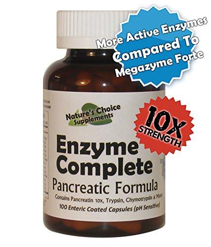 Pancreatic Enzyme Formula - Enzyme Complete 10x Pancreatic Formula