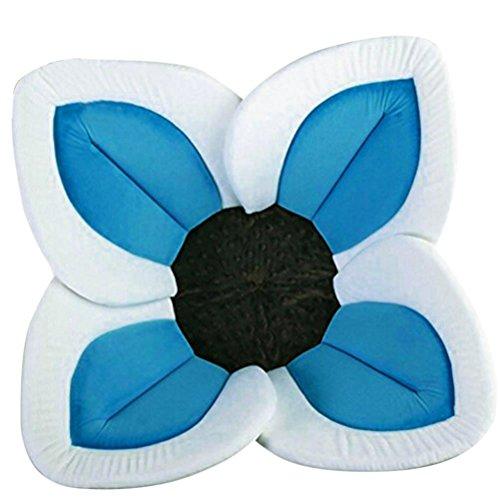 Badewanne Baby,Hunpta Blühende Bad-Blumen-Badewanne für Baby-blühende Wanne Bad für Baby Säugling Lotus Sky Blue