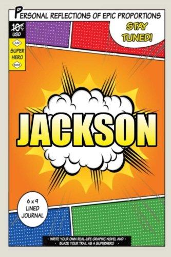 Download Superhero Jackson: A 6 x 9 Lined Journal ebook
