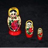 Russian Nesting Doll, Semenov 3pc