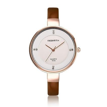 WarmHome El Nuevo Reloj Pulsera Mesa Roma Digital clásico Generoso Hembra Reloj Esfera Grande Sencillo Moda