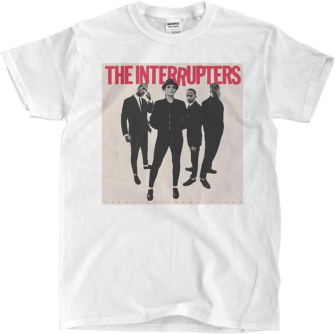 Envío rápido The Interrupters - Fight The Good Fight - Camiseta Blanca, 5XL: Amazon.es: Ropa y accesorios