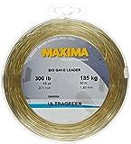 Maxima Fishing Line Big Game Leader Wheel, Ultragreen, 300-Pound/55-Yard