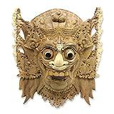 NOVICA 226730 Sang Jogor Manik' Wood mask