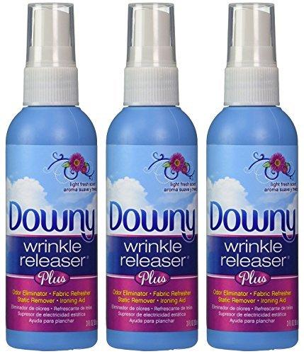 Downy Wrinkle Releaser, Travel Size Light Fresh Scent 3 fl oz - 3 (Travel Size Wrinkle Remover)