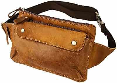 Travables Genuine Leather Waist Bag Fanny Pack