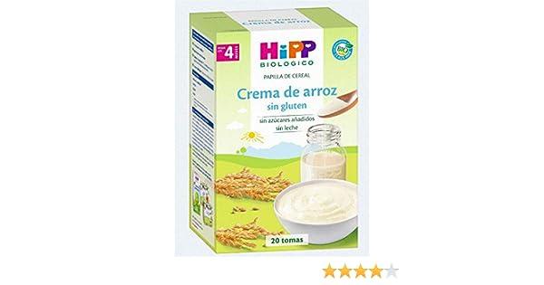 HiPP Biológico Crema de Arroz - 400 gr: Amazon.es: Alimentación y bebidas