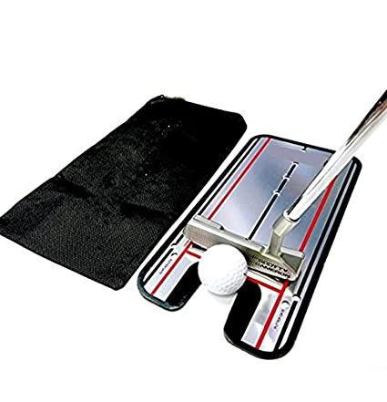 Amazon.com: fenstore alineación de golf putting Mirror ayuda ...