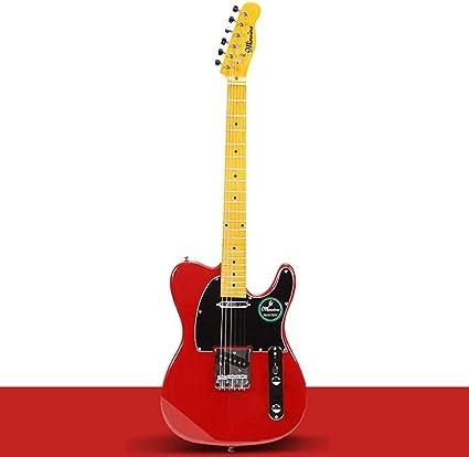 Boll-ATur Guitarra eléctrica for principiantes roja Adecuado for ...