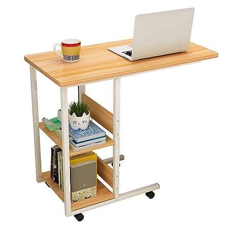 KK-TABLE Mesa para computadora portátil, con Ruedas con Freno ...