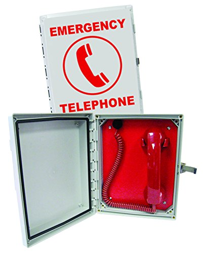 - Enclosed Emergency Phone (Handset)