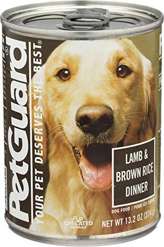PET GUARD NATURAL PET PRODUCTS Dog Lamb And Brown Rice Adult, 13.2 OZ
