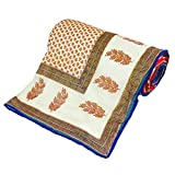 Little India Rajasthani Ethnic Print Double Bed Dohar Comforter 311
