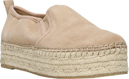 Sam Edelman Kvinna Carrin Plattform Espadrille Slip-on Sneaker Havregryn Kid Mocka