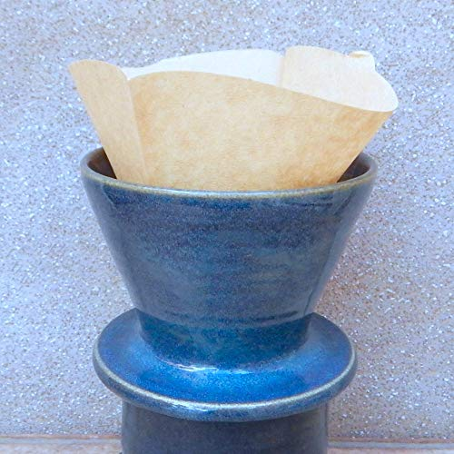 - Coffee filter holder dripper pourover hand thrown stoneware wheelthrown pour over handmade pottery
