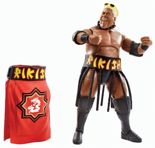 WWE Elite Collection Series #27 Rikishi Action Figure by Mattel