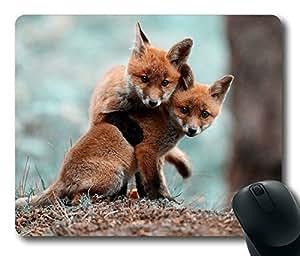 Little Fox ,Rectangle mouse pad