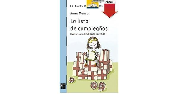 La lista de cumpleaños (Kindle) (Barco de Vapor Azul nº 159 ...