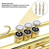 Eastrock Gold Brass Standard Bb Trumpet Instrument