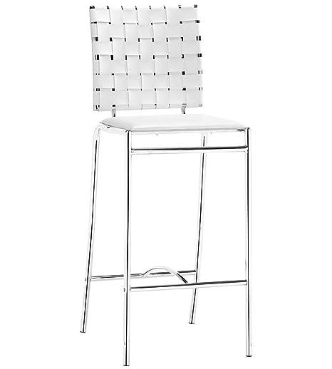 Brilliant Amazon Com Modern Bar Stool Criss Cross Counter Chairs Inzonedesignstudio Interior Chair Design Inzonedesignstudiocom
