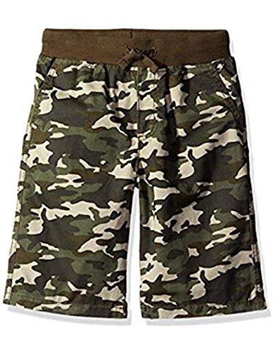 Gymboree Big Boys' Ribbed Waist Flat Front Camo Shorts, 2T ()