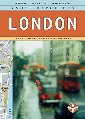 Knopf MapGuides: London: The City in Section-by-Section - London Map Of Underground