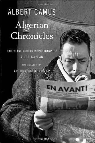 Algerian Chronicles: Amazon.es: Albert Camus, Alice Kaplan, Arthur Goldhammer: Libros en idiomas extranjeros