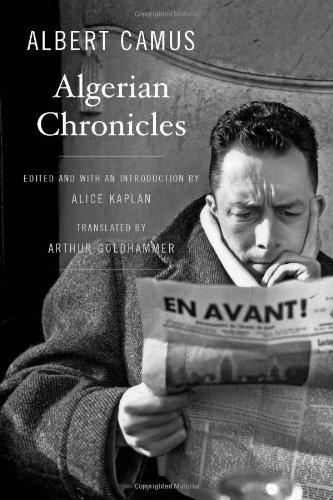 Algerian Chronicles Albert Camus