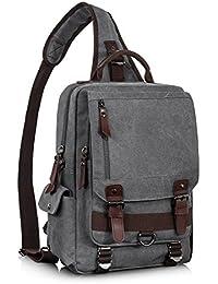 758a3bde8ca Amazon.com  Men - Messenger Bags   Luggage   Travel Gear  Clothing ...