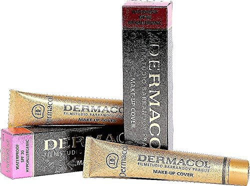 Dermacol Make-up Cover - Water-Proof Hypoallergenic for all Skin Types, nr - Colors Tone Right Skin For