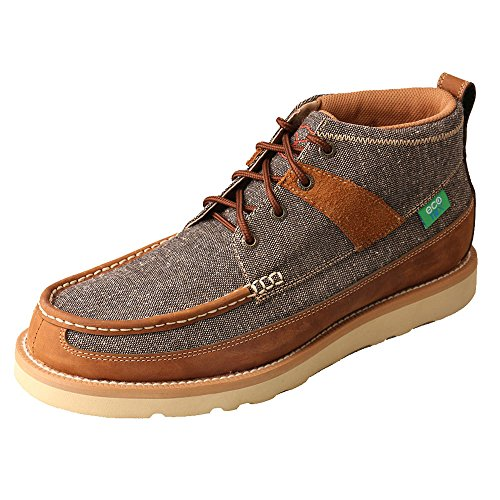 Twisted X Men's Men&Rsquo;S Eco TWX Casual Shoes Round Toe Brown 10.5 - Eco Tack