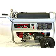 Honda Tri Fuel Generator Complete Package 15000 Starting Watts 8400 Running Watts