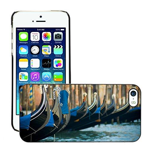 Premio Sottile Slim Cassa Custodia Case Cover Shell // V00002681 Venise // Apple iPhone 5 5S 5G