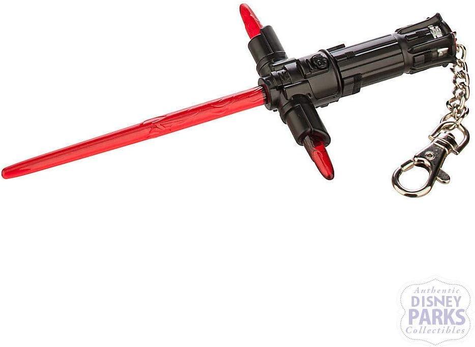 Amazon Com Disney Kylo Ren Lightsaber Keychain Key Ring Toys Games