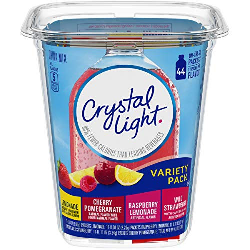 Crystal Light Variety Pack Drink Mix (44 On the Go Packets) (Best Way To Pomegranate)