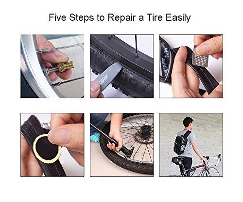 pneus D'outils Mamaer Une Jeu Et 7 De Outil Rustines 1 Y Multifonctions Sac Mini À Pompe Avec Selle Kit Démonte En Râpe Vélo Trois Un Vélo Réparation Comprend qqgSa0r
