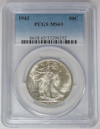 1943 P Walking Liberty Half Dollar MS-65 PCGS