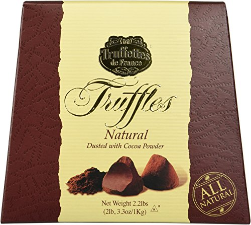 Chocmod Truffettes de France Natural Truffles 2.2 lbs (French Chocolate compare prices)