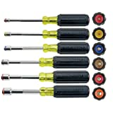 Klein Tools 6356 Heavy-Duty Nut Driver Set, 6 Piece by Klein Tools