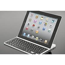 Zagg FOLKYBSLV97 ZAGGkeys Solo for iPad 2 - Keyboard Only - Silver