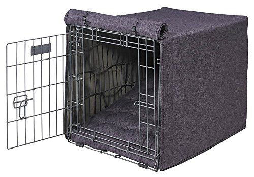 - Bowsers Luxury Crate Cover, X-Large, Grape