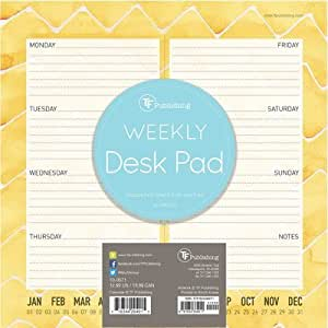 Tf Publishing 10 0571 Citrus Weekly Desk Pad By Tf