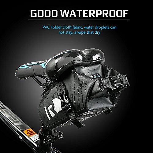 Waterproof Bike Saddle Bag High End Rainproof PVC MTB Bike Rear Bags Cycling Rear Seat Tail Bag bicycle bag