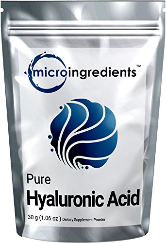Price comparison product image Premium Pure Hyaluronic Acid Powder for Making Anti-Aging Serum, Internal Hydration & Joint Health Support , 30 grams