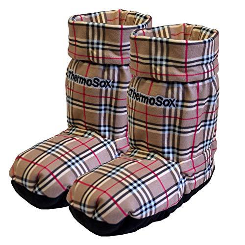 Thermo In Altezza Microonde Scaldapiedi Una Sox Calza Originale Riscaldate Pantofola Di Scacchi X1rIXwq