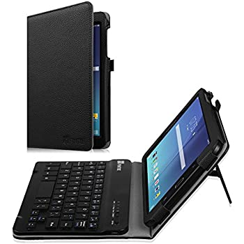 Fintie Keyboard Case for Samsung Galaxy Tab E 8.0, Slim Fit Folio PU Leather Case
