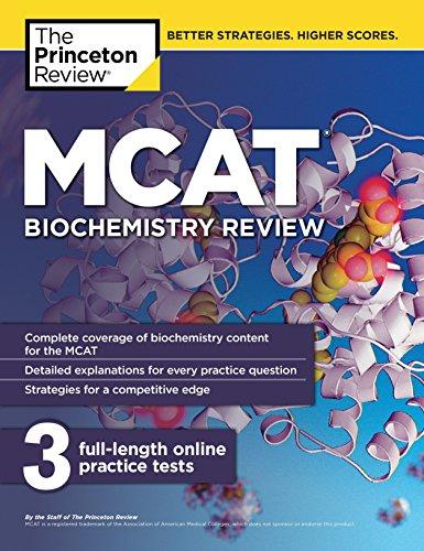 MCAT Biochemistry Review (Graduate School Test Preparation)